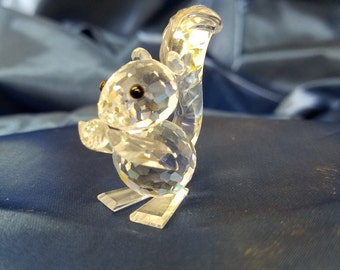 Swarvoski Crystal Squirrel.