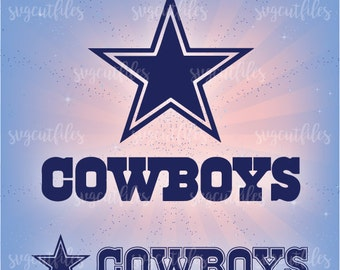 SVG Cowboys - Cricut, Silhouette Studio cutting file, Instant Download