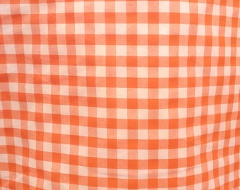 """Gingham 1/4"""" Print Poly Cotton by the Yard"""