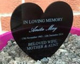Personalised Memorial plaque