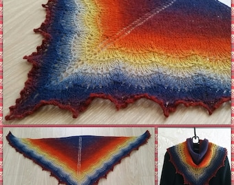 Small Knitted Shawl