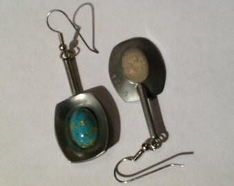 Jorgen Jensen 220 Pewter earring hoops