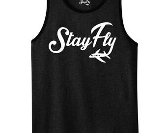 StayFly Men's Tank Top White
