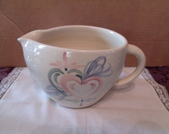 Vintage Porcelain Milk Pitcher from Marshall pottery