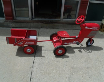 1950's Murray Peddle Tractor/Wagon, Restored