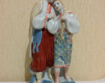Soviet Vintage porcelain statuettes