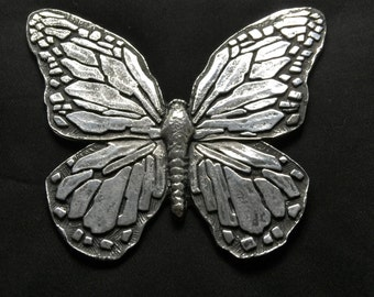 Polished Larger Butterfly Wall Hanging/ Paper Weight