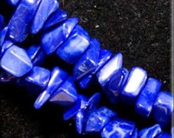 Dark blue Howlite