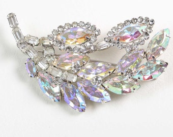 Vintage Weiss Diamante/Crystal Brooch