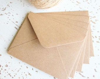 Kraft Brown Envelopes Pk10