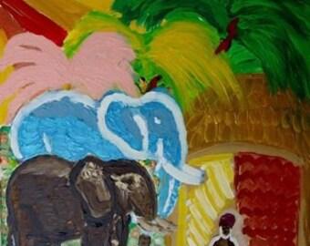 Bild Fatamorgana/painting Fatamorgana