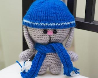 Rabbit. Bunny. Rabbit handmade. Bunny handmade. Rabbit crochet. Bunny crochet. Bunny toy knitting. Rabbit amigurumi. Bunny amigurumi