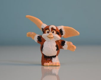 Rare Vintage 1990 Gizmo Figurine By Applause Gremlins Horror Movie Figure No Food After Midnight