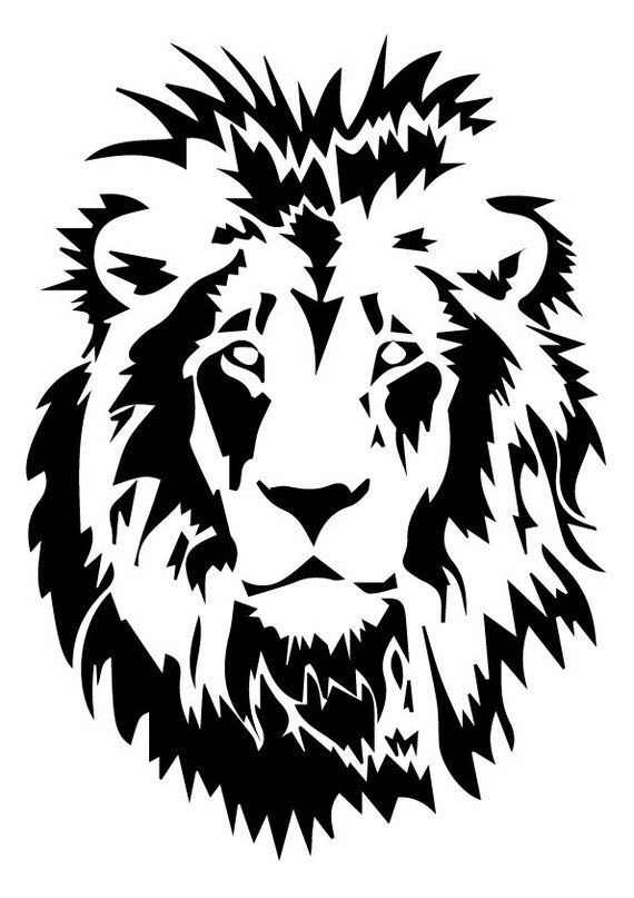 Lion Svg Lion Eps Lion Silhouette Lion Files Cutting