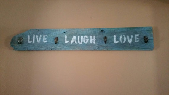 Live Laugh Love Home Decor Sign Wooden Sign By Danigracecraft