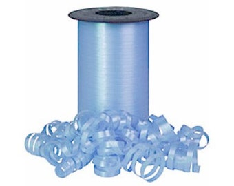 Light Blue curling ribbon    (18-S-121)
