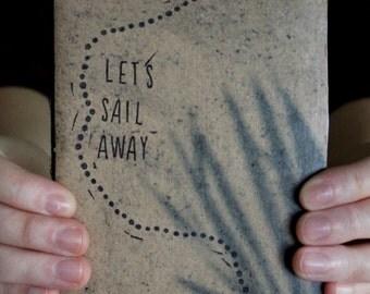 Let's Sail Away Sketchbook