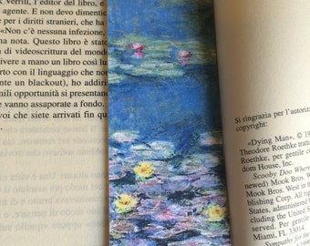 Bookmark with Monet