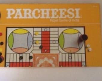 Vintage 1982 parcheesi game