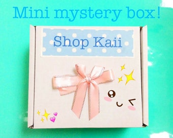 Mini Kawaii Mystery box/ Small surprise box / Grab box / Gift box