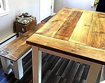 Reclaimed Barnwood Table/ Bench