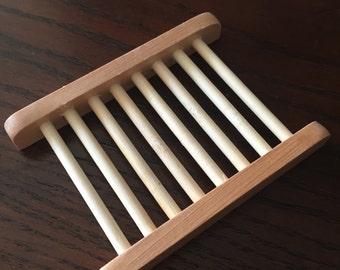 Natural Wooden Soap Dish