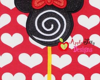 Mouse Lolliopop 2 Applique Design