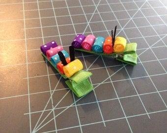 Polka dot caterpillars
