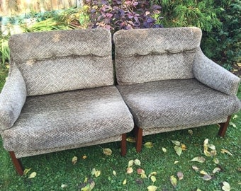 Original 1970s cintique sofa