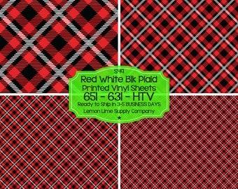 Plaid Pattern Vinyl/Printed Heat Transfer Vinyl/Patterned Vinyl/Printed 651 Vinyl/Printed 631 Vinyl/Printed Outdoor Vinyl/Printed HTV