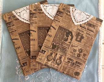 Printed Paper Bags, Bags, Paper, Paper Bags, Paper Doily, Doily, Party Bags, Gift Bag