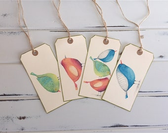 Shipping Tags, Gift tags, tags, birds