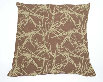Strelitzia PINK Scatter Pillow Cover