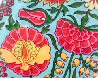 Beautiful cotton mul mul fabric 5 mtrs