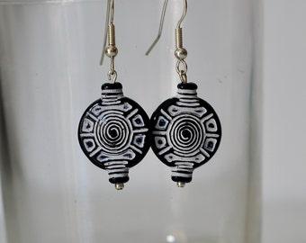Earrings African style
