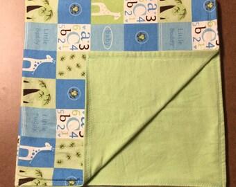 Safari Baby Blanket