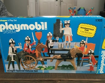 Vintage Playmobil Knight Special Deluxe Set
