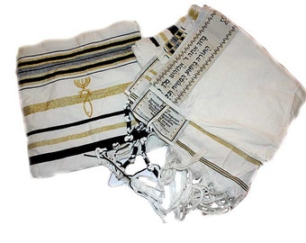 "Messianic Jewish Christian Prayer Shawl Tallit Tallis 72""*22"""