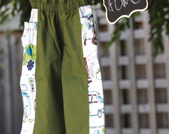 Treasure pocket trousers handmade