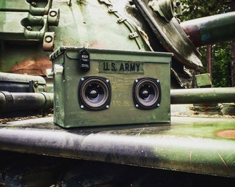 Bluetooth Ammo Can Boombox