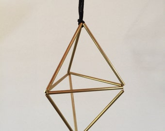 Geodesic Himmeli Ornament