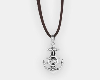 The Big and Classic Anchor Pendant, 925 Sterling Silver