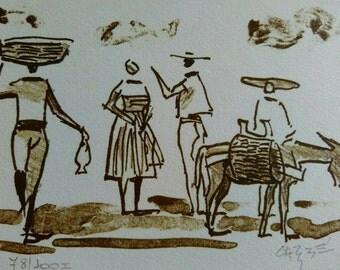 Carybé engravings