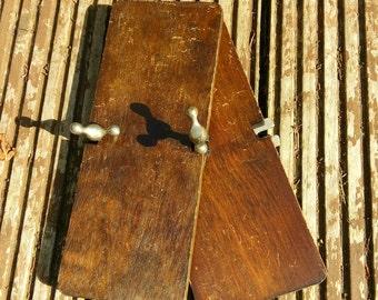 Tie press Vintage Wooden Press, Decorative, Display, Vintage Collectibles, Antique
