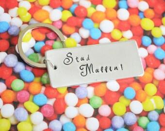 Stud Muffin Keyring