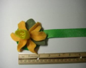 OOAK Daffodil Bookmark