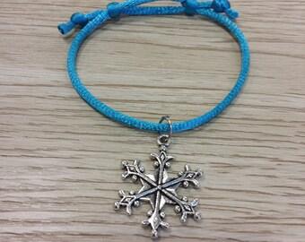 10 Pieces Winter snowflake Friendship Bracelet Party Favors