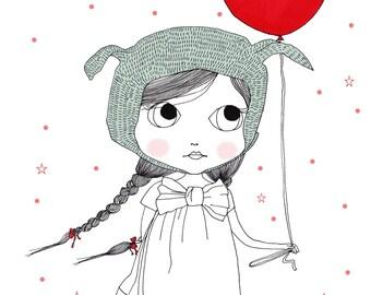 Lady Jane - original artwork, posters kids
