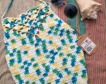 Crochet Summer Halter Top