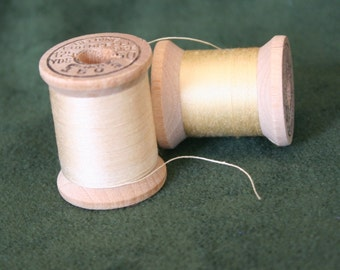 Vintage Belding Corticelli Cotton Thread on Wooden Spools